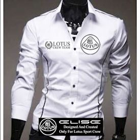 Lotus Elise shirt White (L)