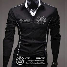 Lotus Elise shirt Black (L)