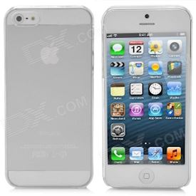 A&T-019 Protective PC Hard Back Case for iPhone 5 - Transparent