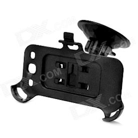 Car Swivel Suction Cup Mount Holder for Samsung i9300 Galaxy S3 - Black