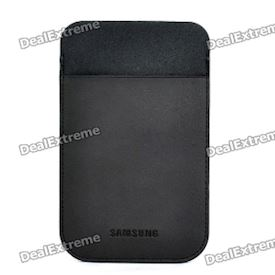 Protective Slide-in Lambskin Case for Samsung Galaxy S2 i9100 / i9103 - Black