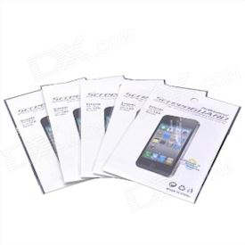 Protective Glossy Screen Protector Guard Film for iPhone 5 - Transparent