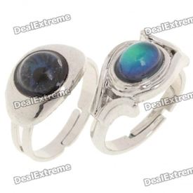 Beautiful Body Temperature Color-Changing Finger Ring