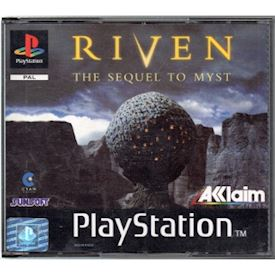 RIVEN THE SEQUEL TO MYST PS1