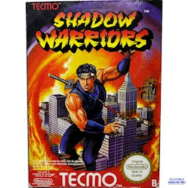 SHADOW WARRIORS (NINJA GAIDEN) NES SCN