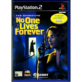THE OPERATIVE NO ONE LIVES FOREVER PS2
