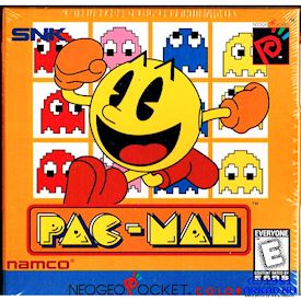 PAC-MAN NEOGEO POCKET COLOR INPLASTAT