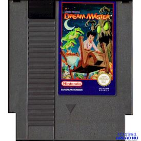 LITTLE NEMO THE DREAM MASTER NES SCN