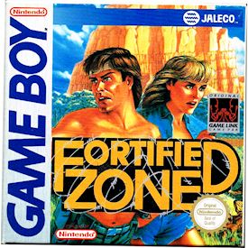 FORTIFIED ZONE GAMEBOY SCN