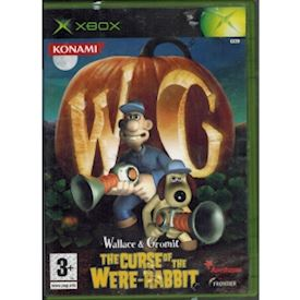 WALLACE & GROMIT THE CURSE OF THE WERE-RABBIT XBOX