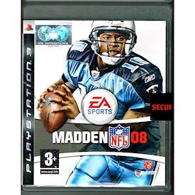 MADDEN NFL 08 PS3