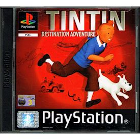 TINTIN DESTINATION ADVENTURE PS1