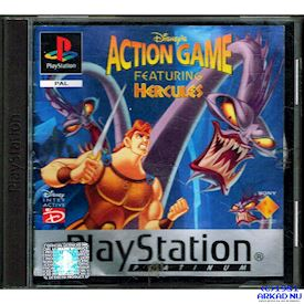 ACTION GAME FEATURING HERCULES PS1