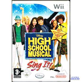 HIGH SCHOOL MUSICAL SING IT WII