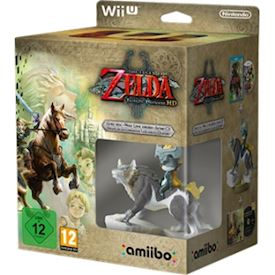 THE LEGEND OF ZELDA TWILIGHT PRINCESS HD MED WOLF LINK AMIBO FIGUR WII U NY