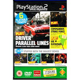 PLAYSTATION 2 DEMO DISC 70 MARCH 2006
