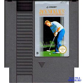 JACK NICKLAUS GREATEST 18 HOLES OF MAJOR CHAMPIONSHIP GOLF NES SCN