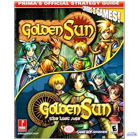 GOLDEN SUN & GOLDEN SUN THE LOST AGE PRIMAS OFFICIAL STRATEGY GUIDE