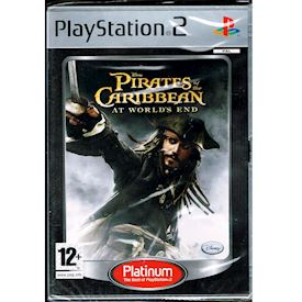 PIRATES OF THE CARIBBEAN AT THE WORLDS END PS2 NYTT