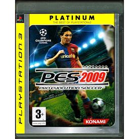 PRO EVOLUTION SOCCER PES 2009 PES PS3