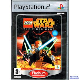 LEGO STAR WARS THE VIDEOGAME PS2