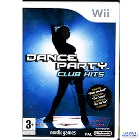 DANCE PARTY CLUB HITS WII