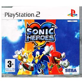 SONIC HEROES DEMO PS2