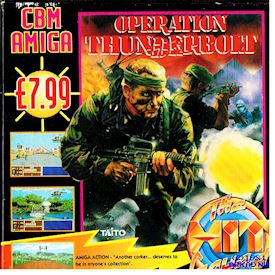 OPERATION THUNDERBOLT AMIGA