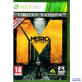 METRO LAST LIGHT LIMITED EDITION XBOX 360