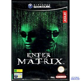 ENTER THE MATRIX GAMECUBE