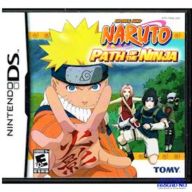 NARUTO PATH OF THE NINJA DS