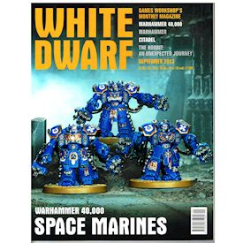 WHITE DWARF SEPTEMBER 2013