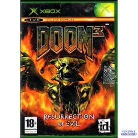 DOOM 3 RESURRECTION OF EVIL XBOX
