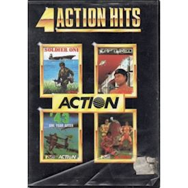 4 ACTION HITS C64 DISK