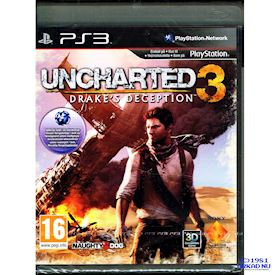 UNCHARTED 3 DRAKES DECEPTION PS3