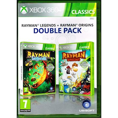 RAYMAN LEGENDS + RAYMAN ORIGINS DOUBLE PACK XBOX 360
