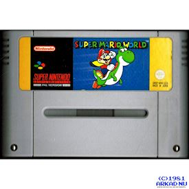SUPER MARIO WORLD SNES SCN