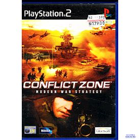CONFLICT ZONE MODERN WAR STRATEGY PS2