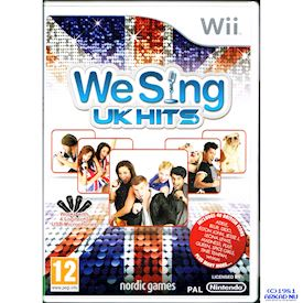 WE SING UK HITS WII