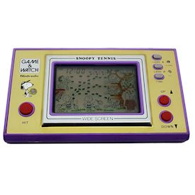 SNOOPY TENNIS GAME & WATCH
