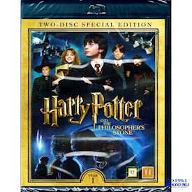 HARRY POTTER AND THE PHILOSOPHERS STONE YEAR 1 SPECIAL EDITION BLU-RAY