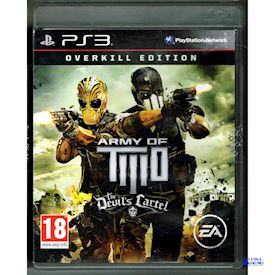 ARMY OF TWO THE DEVILS CARTEL OVERKILL EDITION PS3