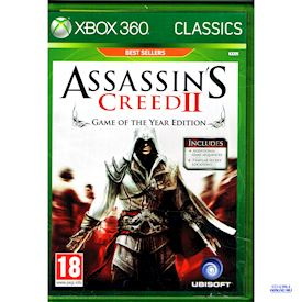 ASSASSINS CREED II GAME OF THE YEAR EDITION  XBOX 360