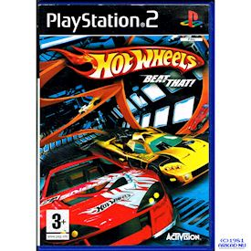 HOT WHEELS BEAT THAT PS2
