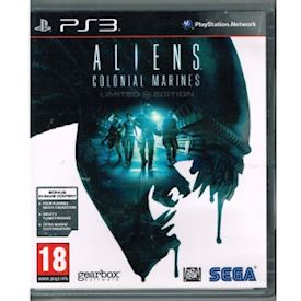ALIENS COLONIAL MARINES LIMITED EDITION PS3