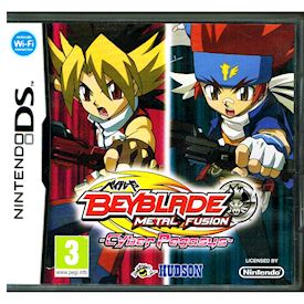 BEYBLADE METAL FUSION CYBER PEGASUS DS