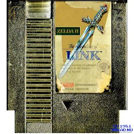 ZELDA II THE ADVENTURE OF LINK NES