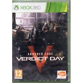 ARMORED CORE VERDICT DAY XBOX 360 NYTT