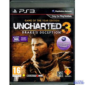 UNCHARTED 3 DRAKES DECEPTION GAME OF THE YEAR EDITION PS3