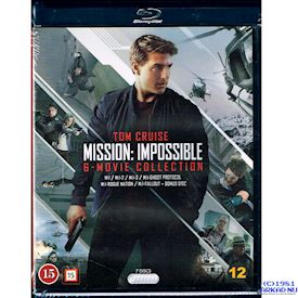 MISSION IMPOSSIBLE 6-MOVIE COLLECTION BLU-RAY
